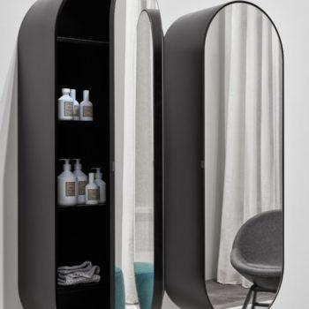 oglinda ovala pentru baie