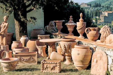 decoratiuni si vase din teracota