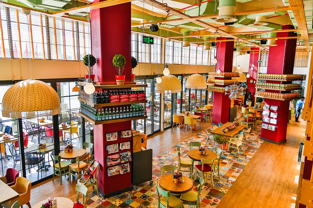 proiect design interior cafenea terrazzo 1