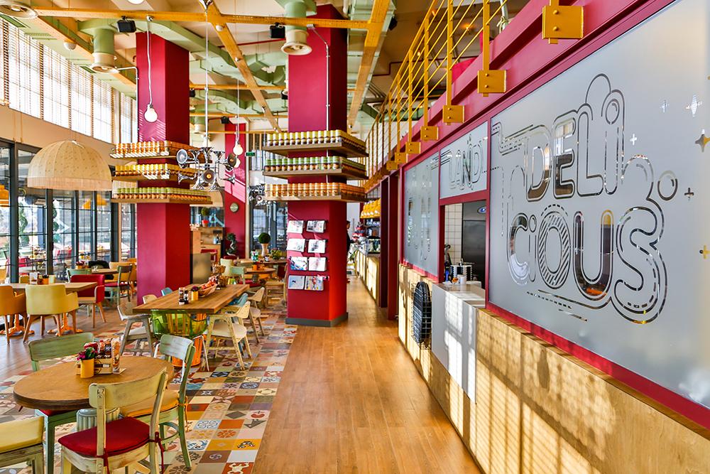 proiect design interior cafenea terrazzo