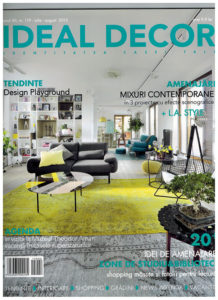 Osmyum in Ideal Decor - Iulie - August 2015