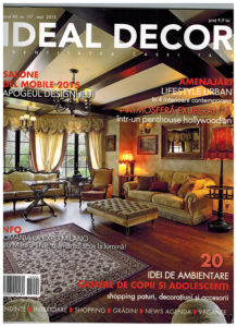 Osmyum in Ideal Decor - Mai 2015