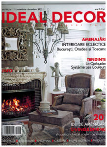 Osmyum in Ideal Decor - Noiembrie - Decembrie 2015