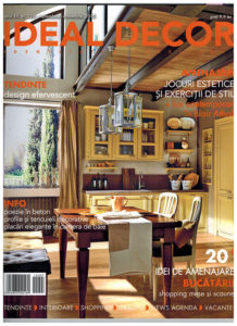 Osmyum in Ideal Decor - Noiembrie - Septembrie - Octombrie 2015