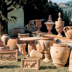 Decoratiuni si vase teracota