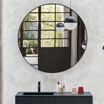 oglinda pentru baie rotunda