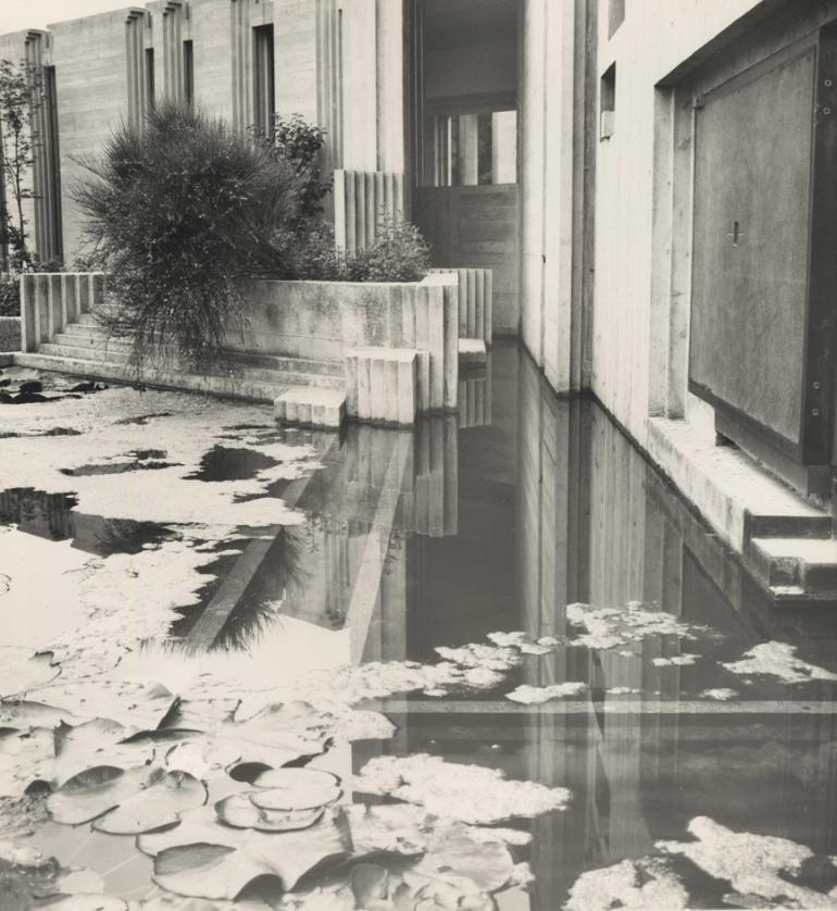 (Carlo Scarpa, Tomba Brion, tempietto, San Vito d'Altivole 1969-1978© MAXXI)